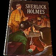 Sherlock Holmes by Sir Arthur Conan Doyle Golden Press Book