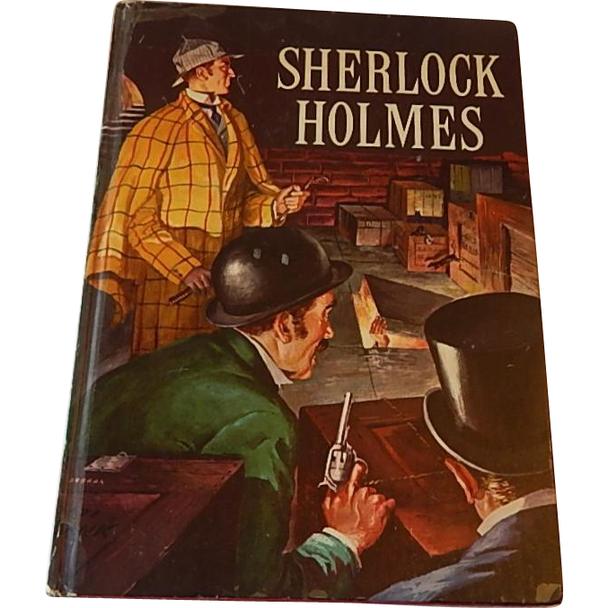 Sherlock Holmes by Sir Arthur Conan Doyle Golden Press Book