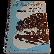 La Fourchett recipes from bayou Lafourche  1957