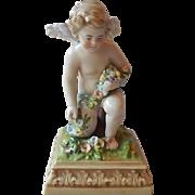 Scheibe Alsbach Cherub Figurine