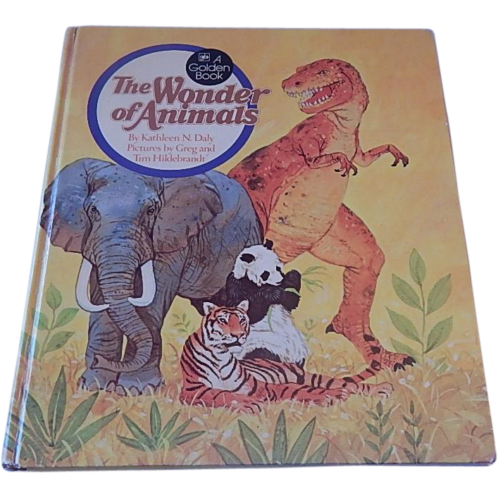 A Golden Book The Wonder Of Animals by Kathleen N. Daly