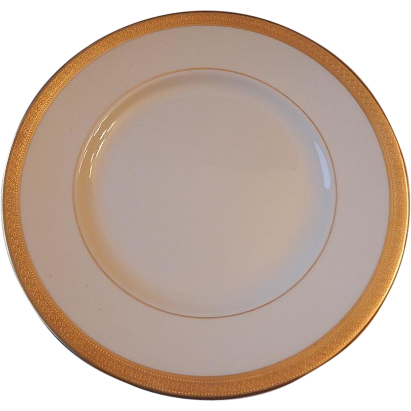 Syracuse China Bracelet Dinner Plate