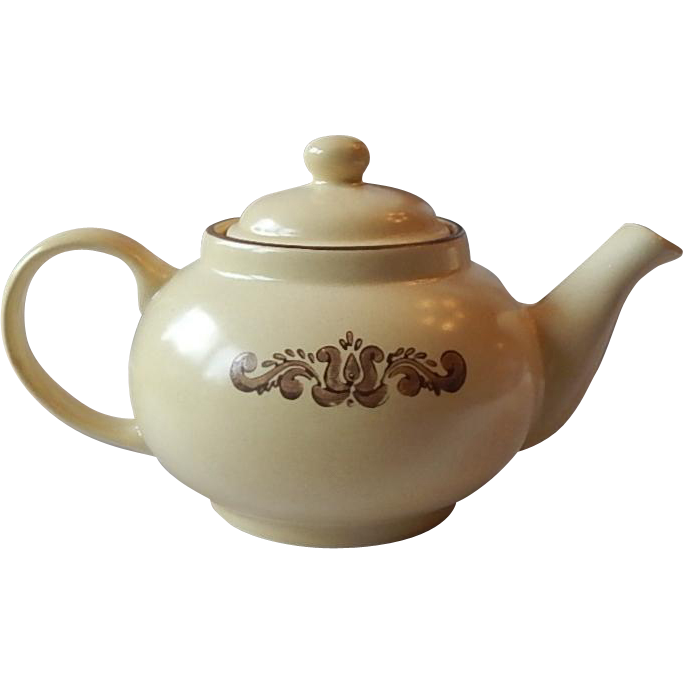 Pfaltzgraff Ironstone Village Teapot with Lid