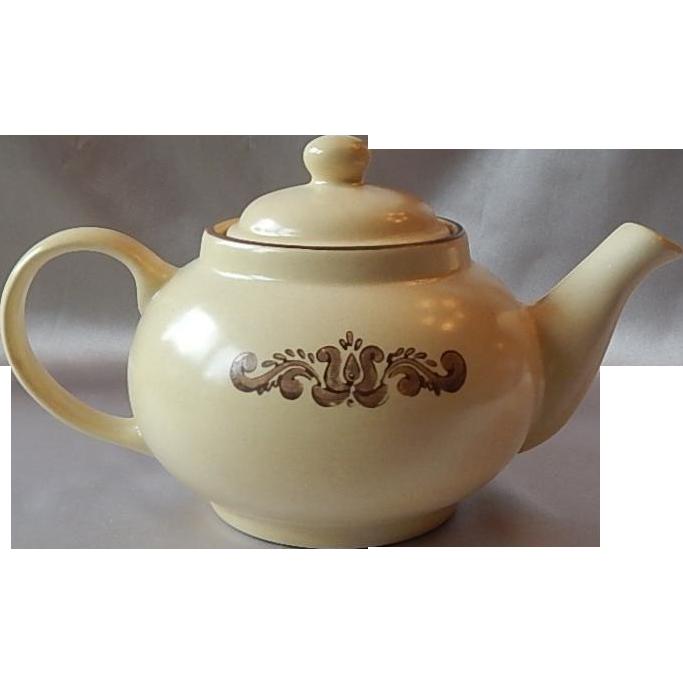 Pfaltzgraff Ironstone Village Teapot with Lid
