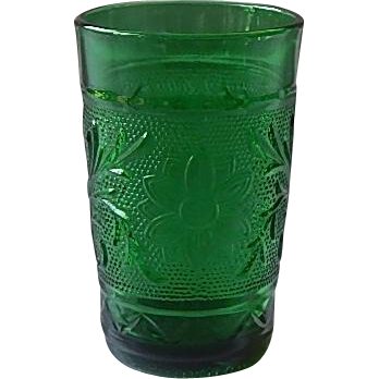 Anchor Hocking Glass Sandwich Juice Tumbler