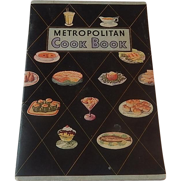 Metropolitan Cook Book Booklet