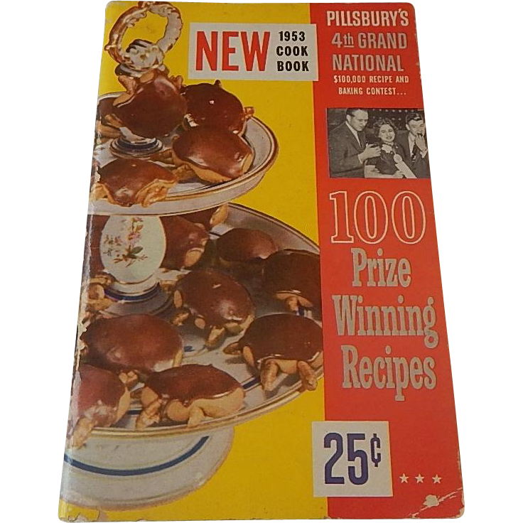 Pillsbury's 4th Grand National Cook Book 1953