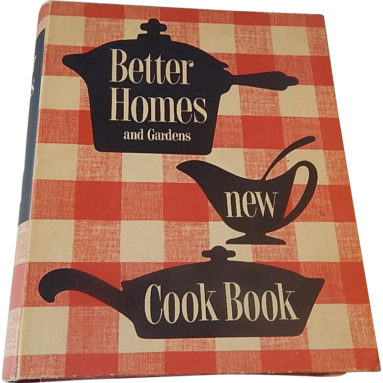 Better Homes and Garden New Cookbook 1953 1st Edition Ninth