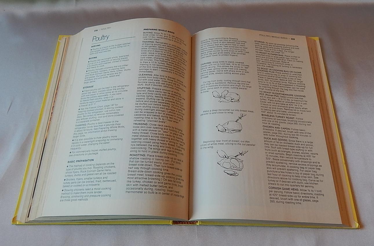 Pillsbury Family Cookbook 1963 Vintage Cookbook Traditional Recipes