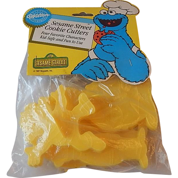 Wilton Muppets Sesame Street Cookie Cutters