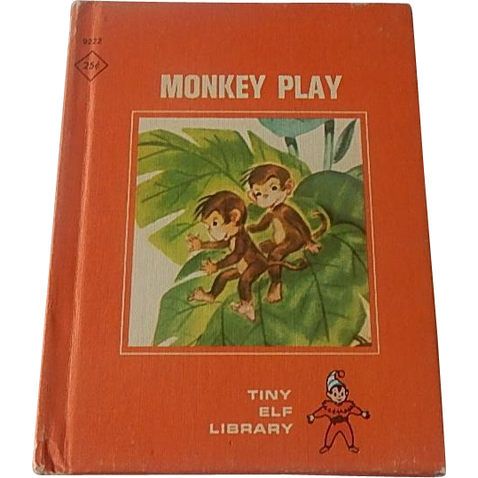 Tiny Elf Library  Monkey Play Book
