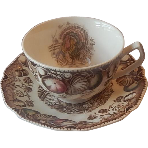 Johnson Bros. His Majesty Cup and Saucer