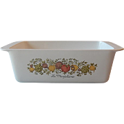 Corning Ware Spice of Life Loaf Pan