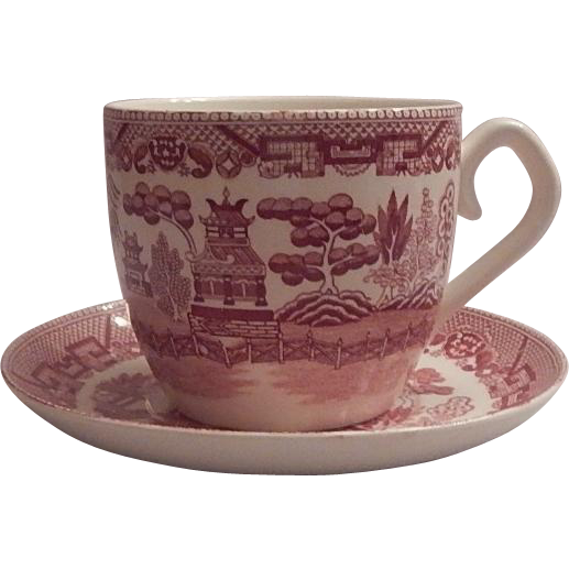 Pink Willow Jumbo Cup and Sauce