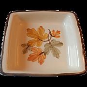Franciscan Pottery October  Baker Square Dish