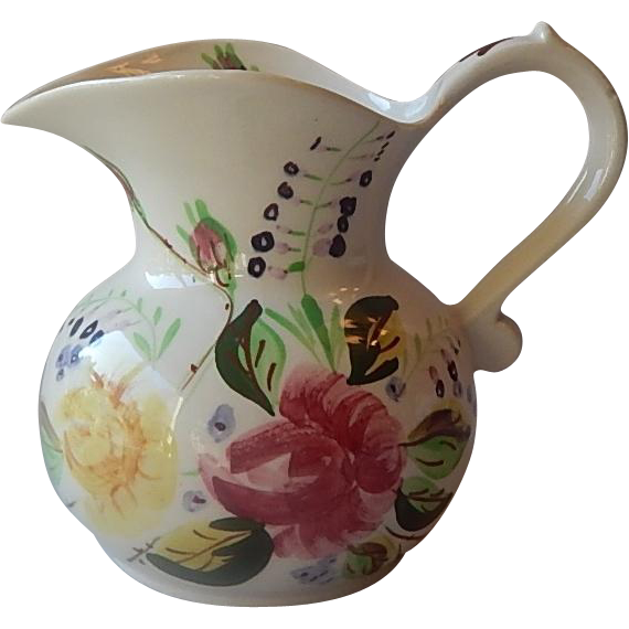 Southern Potteries Sally Shape Ida Rose Pitcher