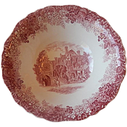J & G Meakin Romantic England Serving Bowl