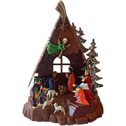 Plastic Miniature Nativity Scene