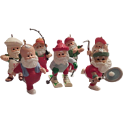 Seven Hallmark Keepsake  Ornaments  What Santa Does For Fun