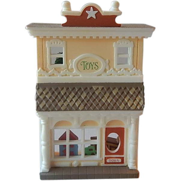 Hallmark Old Fashioned Toy Shop Ornament