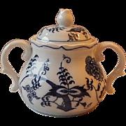 Blue Danube Sugar Bowl With Lid