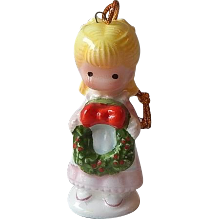 Joan Walsh Anglund Little Girl Christmas Ornament