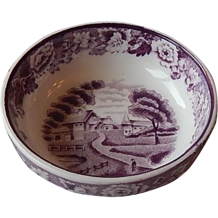 Wood & Sons English Scenery Purple Salt Dip