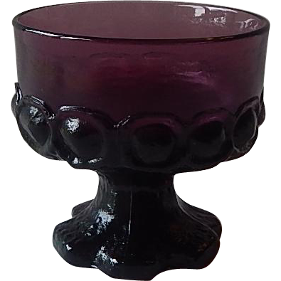 Purple Franciscan Tiffin Madeira Sherbet