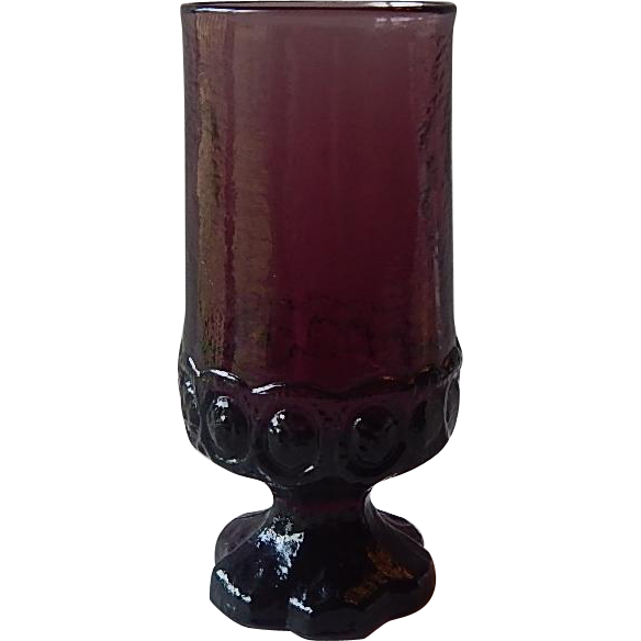 Franciscan Tiffin Madeira Purple Ice Tea Glass