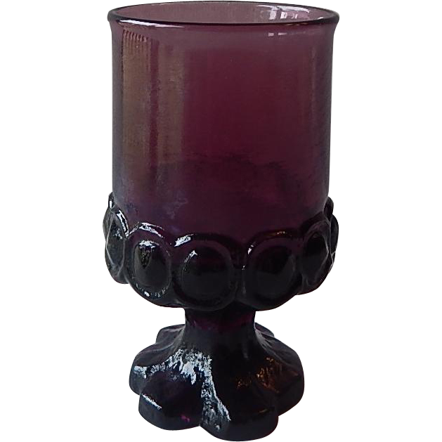 Purple Franciscan Tiffin Madeira Juice Glass