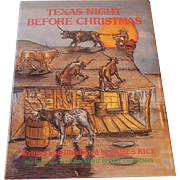 Texas Night Before Christmas by James Rice