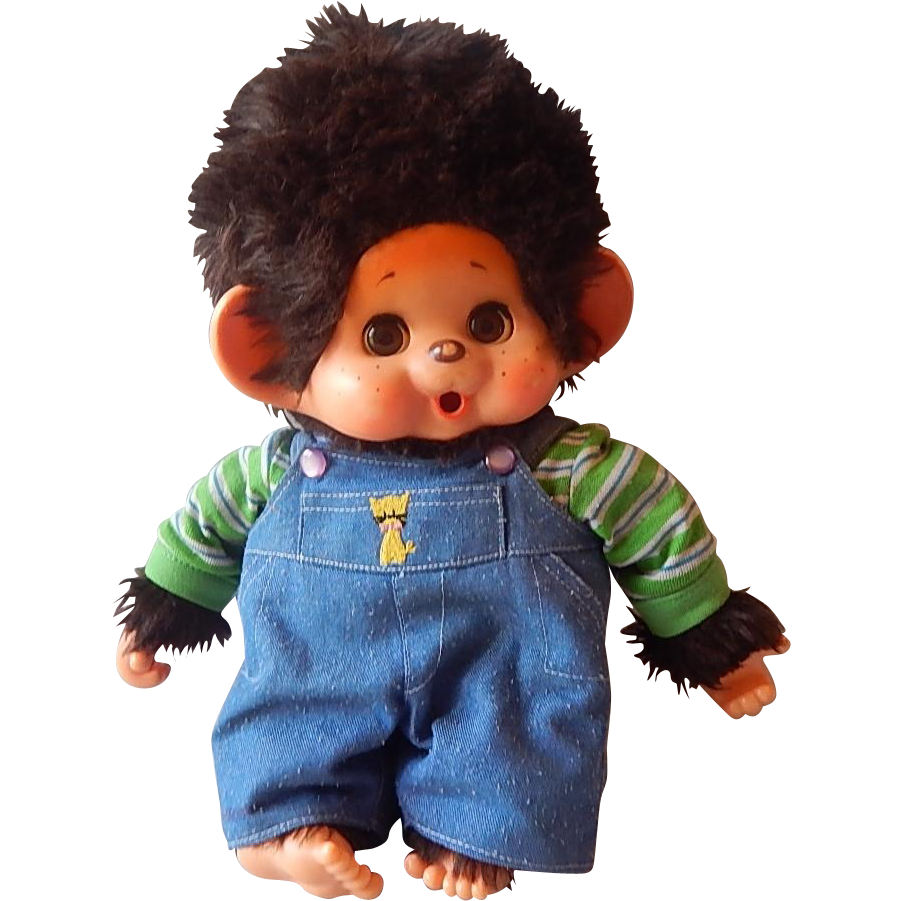 Monchhichi Thumb Sucking Toy Monkey