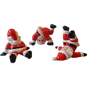 Omnibus Fitz and Floyd Christmas Santa Tumblers