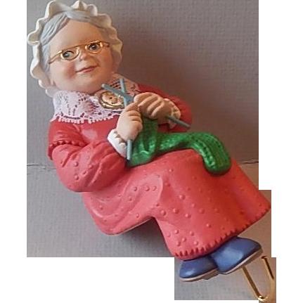 Hallmark Keepsake Mrs. Claus Christmas Stocking Hanger