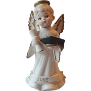 Lefton Graduation Angel Figurine