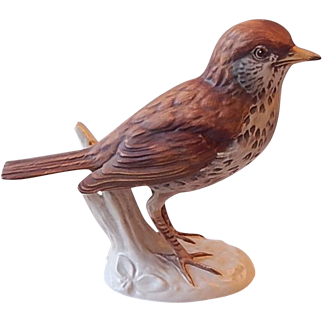 Goebel Wood Thrush Bird Figurine 1976