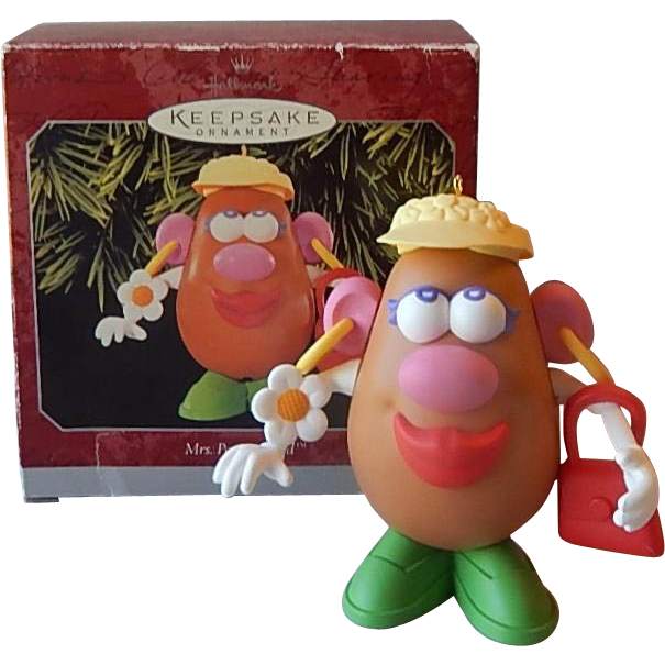 Hallmark Keepsake Ornament Mrs. Potato Head