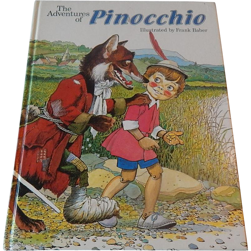 The Adventures Of Pinocchio Book