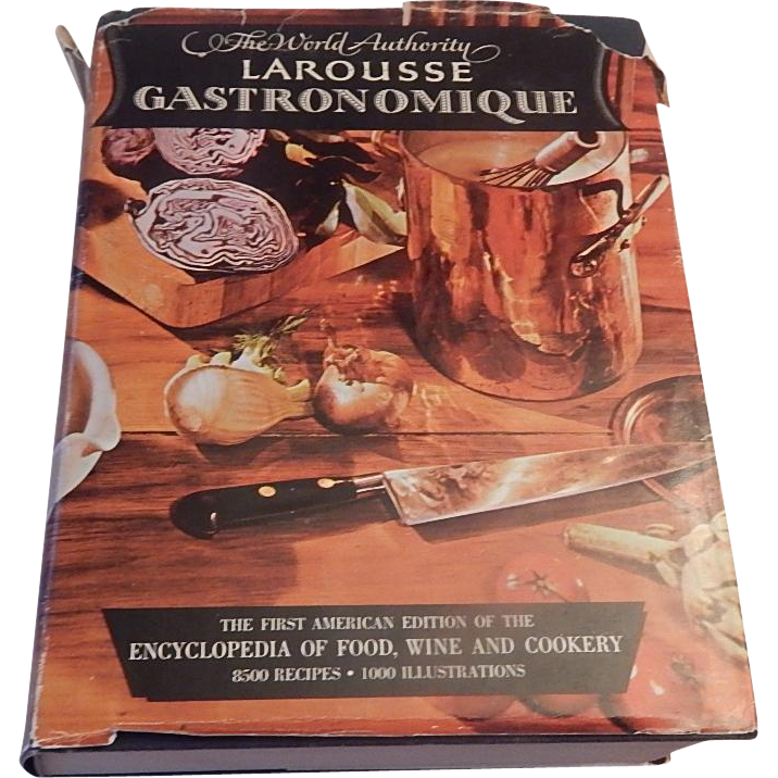 the world authority larousse gastronomique cookbook colemans collectibles ruby lane. Black Bedroom Furniture Sets. Home Design Ideas