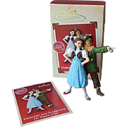 Hallmark Keepsake Dorothy And Scarecrow Ornament