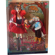 Barbie Gift Set Little Red Riding Hood with the Wolf