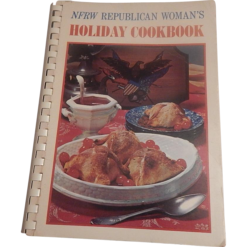 NFRW Republican Woman's Holiday Cookbook