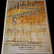 Antoine's Restaurant Since 1840 Cookbook
