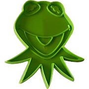 Jim Henson Kermit The Frog Cookie Cutter