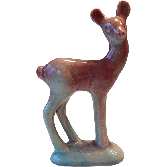 Ceramic Deer Figurine