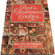 Roses Christmas Cookies by Rose Levy Beranbaum