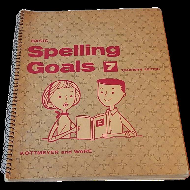 Basic Spelling Goals 7 Teacher's Edition