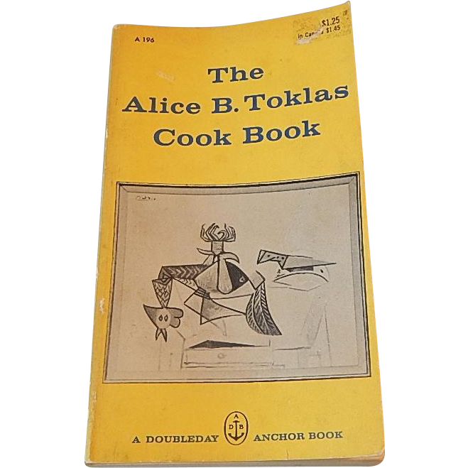 The ALice B Toklas Cook Book 1960