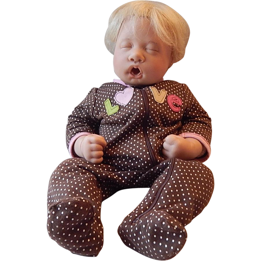 Lee Middleton Sleeping Baby Doll