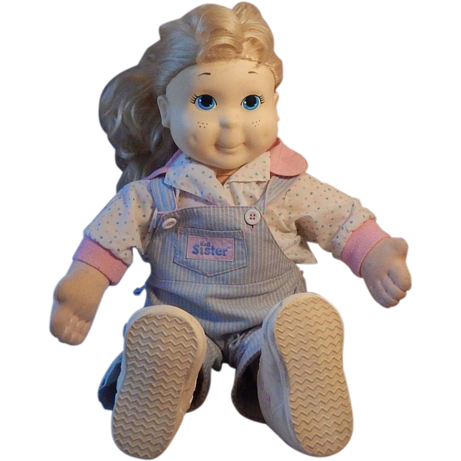 Playskool Kid Sister Doll 1986